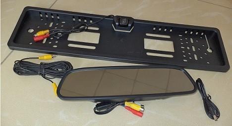 Зеркало заднего вида с камерой заднего хода